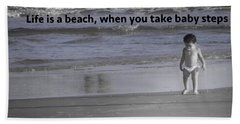 Baby Steps Beach Towel