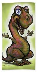 Babysaurus Rex Beach Towel