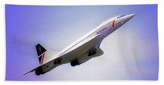Bac Concorde  Beach Sheet