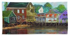 Back Bay Kennebunkport Beach Towel