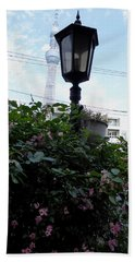 Back Street In Tokyo Beach Sheet