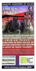 Backcountry Horsemen Join Us Poster II Beach Towel