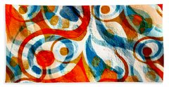 Background Choice Coffee Time Abstract Beach Towel