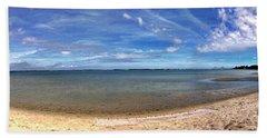 Backwater Bay Pano Beach Towel