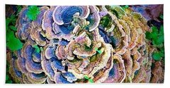 Beach Towel featuring the photograph Backyard Mushroom  by Dedric Artlove W