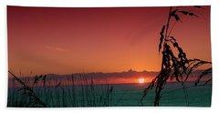 Bad East Coast Sunrise  Beach Towel