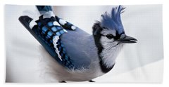 Bad Feather Day Beach Towel