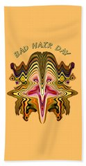 Bad Hair Day Beach Towel
