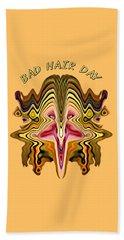 Bad Hair Day Beach Sheet