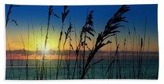Bad Sea Oats  Beach Towel