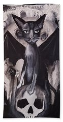 Badkitty Beach Towel