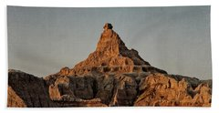 Badlands At Sunrise Beach Towel
