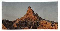 Badlands At Sunrise Beach Sheet