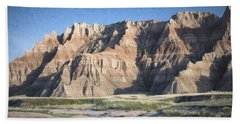 Badlands Beach Towel
