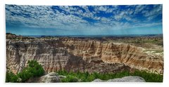 Badlands Landscape Beach Sheet
