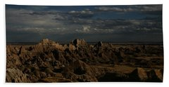 Badlands National Park Beach Towel