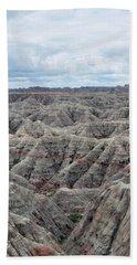 Beach Towel featuring the photograph Badlands National Park by Kyle Hanson