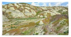 Badlands Of Wyoming Beach Sheet