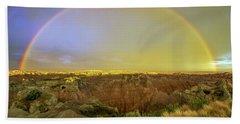 Badlands Rainbow Promise Beach Sheet