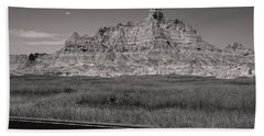 Badlands Sepia  Beach Sheet