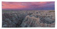 Badlands Sunrise Beach Towel