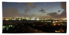 Bahama Night Beach Towel by Jerry Battle