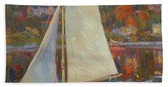 Bainbridge Island Sail Beach Towel