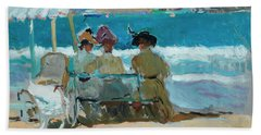 Under The Awnings, San Sebastian Beach Towel