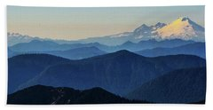 Baker From Pilchuck Beach Towel