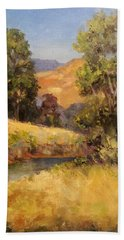 Bakesfield Creek Afternoon Beach Towel