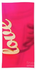 Balanced Love  Beach Towel