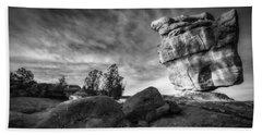 Balanced Rock Garden Of The Gods Beach Towel