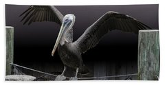 Balancing Act - Pelican Beach Towel