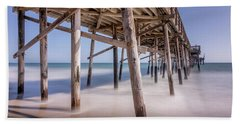 Beach Sheet featuring the photograph Balboa Pier by Jeremy Farnsworth