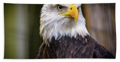 Bald Eagle Beach Towel by Lisa L Silva