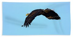 Bald Eagle Horizons Beach Towel