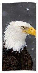 Bald Eagle Intensity Beach Towel