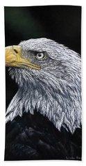 Bald Eagle Beach Towel
