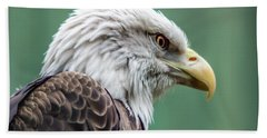 Bald Eagle - Vermont Beach Towel