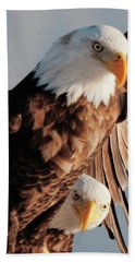Bald Eagles Beach Towel