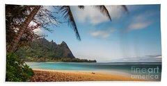 Bali Hai Tunnels Beach Haena Kauai Hawaii Beach Towel