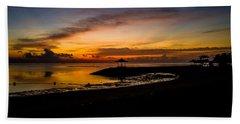 Bali Sunrise I Beach Towel by M G Whittingham
