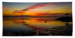 Bali Sunrise II Beach Towel by M G Whittingham