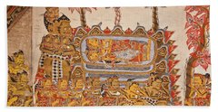 Bali_d530 Beach Towel by Craig Lovell