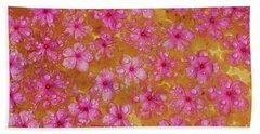 Balinese Flowers Beach Sheet