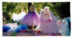 Ballerina Dresses Beach Sheet