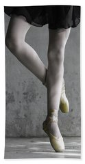 Ballerina Beach Towel