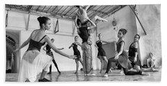 Ballet Practice - Havana Beach Towel