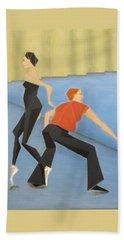 Ballet Practice Beach Sheet by Tamara Savchenko