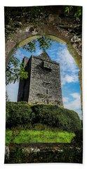 Beach Towel featuring the photograph Ballinalacken Castle In County Clare, Ireland by James Truett